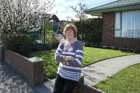 ANGRY: Denise Barker doesn't want a waste water pump station next to her Dallington home.