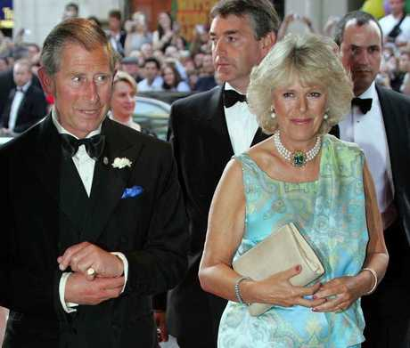 Prince Charles and his wife Camilla.