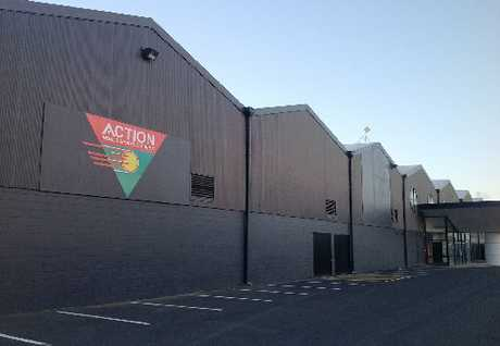 The doors at the Mount Action Centre were locked indefinitely yesterday because of rent arrears. Photo / Joseph Aldridge