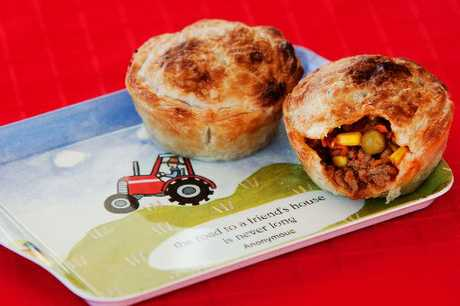 Beef Roma pies are quick and easy