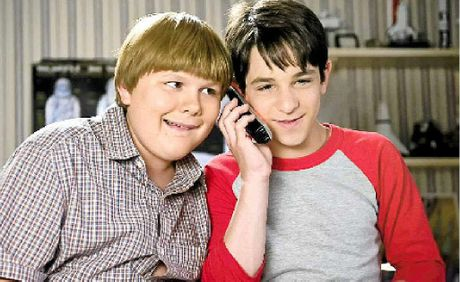 Robert Capron and Zachary Gordon.