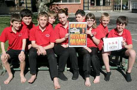 BUSINESS KIDS: A group of Greytown Primary School pupils have started learning about finances as part of maths and have launched their own business called Super Sizzling Sausages or Triple S Day. The young entrepreneurs are Elliot Hendry (left), 12; Connor Fenwick, 13; Harvey Morison, 12; Jacob Pomeroy-Morris, 11; Letitia Fairbrother, 12; Rhyan Powell, 13; Isabella Sinnema, 11; Liam Heard, 13; and Jonty Ariell, 12. Absent is Julia Ryan, 12.