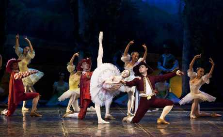 The Imperial Russian Ballet Company will perform Sleeping Beauty in Ipswich on October 26. 