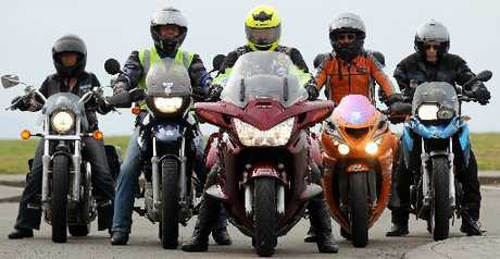 POWER-TO-WEIGHT: It will become harder to obtain a motor-cycle licence as tougher standards for the basic handling skills test kick in on November 1