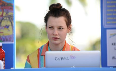Queensland schoolgirl Lily Sullivan plays 'Coral' in PJ Hogan's new Aussie film, Mental.