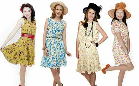 FIELD FASHIONS: Lifeline has a special rack of affordable hats and dresses for Lismore Cup racegoers. Photo courtesy of Corrine Wornes from Cor-Images.