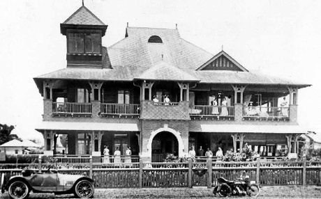 HISTORIC HOSPITAL: Donrayald Private Hospital occupied the old RSL Club site from 1900 to 1947.
