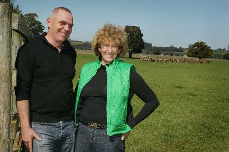 GLOBAL DISTINCTION: Firstlight Venison suppliers Tim Aitken and Lucy Robertshawe have won a prestigious award from UK supermarket chain Marks &amp; Spencer. PHOTO/WARREN BUCKLAND HBT123805-01