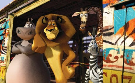*** FOR PREVIEW AND REVIEW PURPOSES ONLY ** A scene from the movie Madagascar 3: Europe's Most Wanted. Supplied by Image.net.
