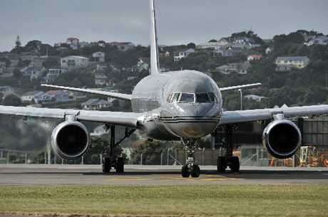 The Royal New Zealand Air Force Boeing 757.