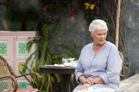 Judi Dench stars in The Best Exotic Marigold Hotel.