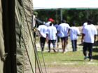 AS MORE than 70 asylum seekers were discovered and transferred to Christmas Island on the weekend, hundreds were continuing their hunger strike on Nauru.
