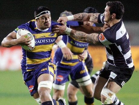 Bay Steamers have loose forwards Sam Cane, skipper Tanerau Latimer (pictured) and Luke Braid, for tonight's ITM match against Hawke's Bay.