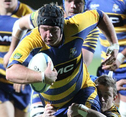 HARD YARDS: Steamers prop Greg Pleasants-Tate will be tested tomorrow night against Wellington.