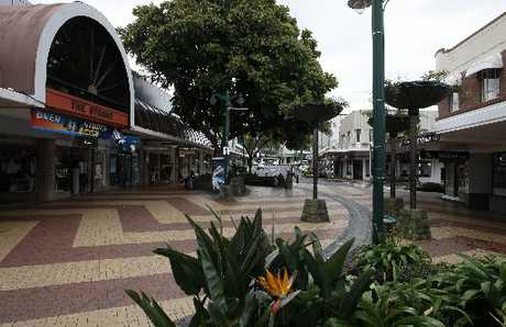 ATTACK SCENE: Cameron St mall in Whangarei was the scene of a violent knife attack on Saturday.