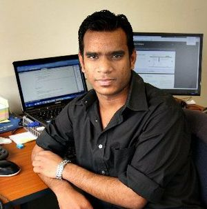 Amit Kamble is a website designer who has volunteered his time to Volunteer Western Bay of Plenty.