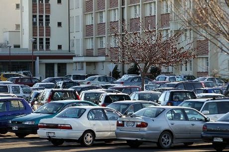TO PAY OR NOT TO PAY? Full car parks at Hawke's Bay Hospital, Hastings, have led to discussion about charging for parking. PHOTO/FILE