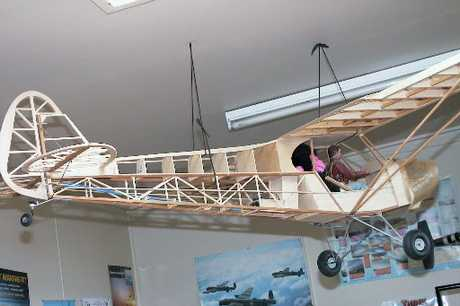 Otamatea College has opened an aviation academy in which students learn how to construct light aircraft.