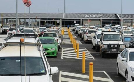 Council says parking fees will ease congestion at Roma Airport carpark.