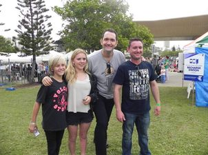 Darren Percival at Caloundra Music Festival