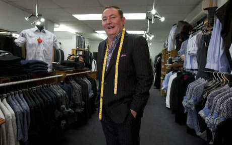 MOVING ON: Owner and founder of Molloy's Menswear Brian Molloy is retiring after 40 years in the retail industry in Tauranga.
