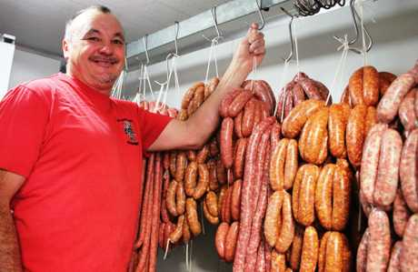 Paul Preston is taking South East Queensland markets by storm with his Saintsational Sausages