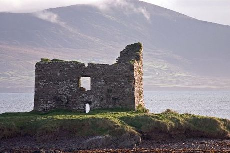 ANCIENT: A fort dominates the Ring of Kerry.