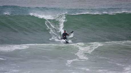 It wasn't ideal world championship preparation but Bay of Plenty surf lifesavers kicked off their season in style at Omanu Beach yesterday.