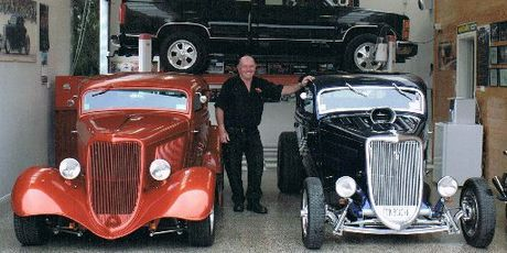 CAR ENTHUSIAST: Kevin Carran loved cars and was a member of the Sulphur City Rod and Custom Club.