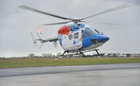 THE AGL Action Rescue Helicopter has airlifted a 20-year-old man to hospital following freak incident.