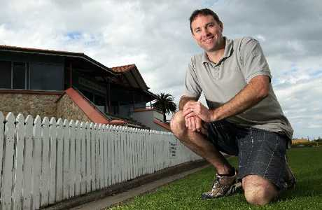 Craig Findlay will be back from a tropical R and R and straight into his job as the new chief executive of Hawke's Bay Cricket. Photo / Duncan Brown