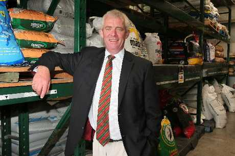 "NATIONAL POTENTIAL: Peter Ellis, Farmlands chief executive, reports ""robust results"" for the Hawke's Bay-based farm-supply co-operative, but a possible merger has the potential to additionally boost shareholder benefits. PHOTO/FILE A-HBT110501-01"