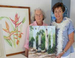 A COMBINED BOTANICAL AND CREATIVE ARTISTS EXHIBITION,