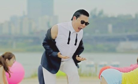 Korean singer PSY has had worldwide success with his internet hit Gangnam style.
