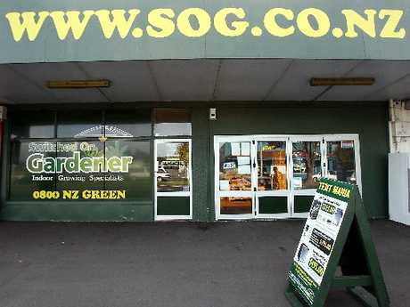 Switched On Gardener&#39;s Tauranga shop.