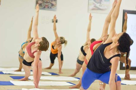 Limber up and slide into your sun salutation because yoga makes us all look like goddesses.