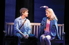David Harris and Lucy Durack in Legally Blonde The Musical.