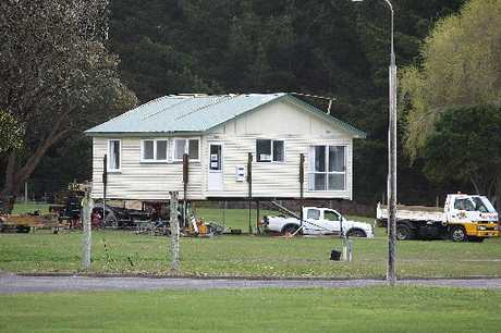 HOME SWEET HOME: Stewart Wilson's new abode, now being prepared at Kaitoke.