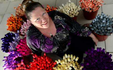 Bev Dunford loves a bargain at the markets. Photo: John Gass / Daily News