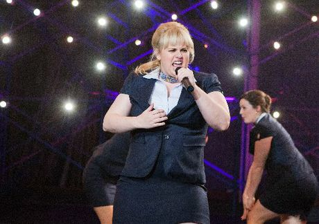 Rebel Wilson in Pitch perfect is refreshingly honest and direct.
