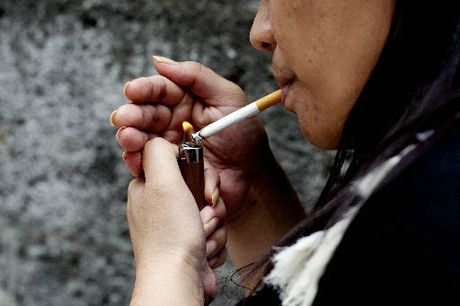 About 5000 people die annually from smoking related illness. 