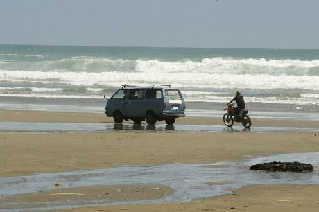 Ahipara residents fed up with hooning motorcycles on the town&#39;s beachfront.