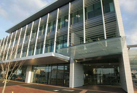 Sharp Tudhope's new building maximises natural light to help keep power usage down.