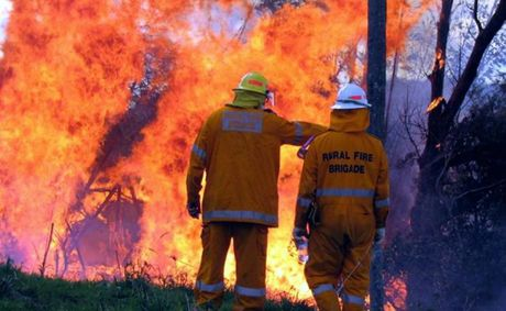 The Rural Fire Service has suspended fire permits in light of high fire danger.