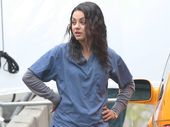 MILA Kunis is thinking about converting to Kabbalah and was spotted taking part in a holiday service at the Kabbalah Centre in New York last month