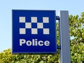 A man was arrested after hitting a woman at Murwillumbah.