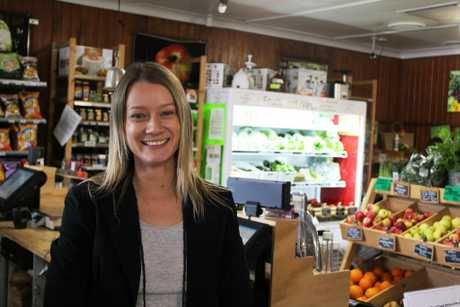 Shop manager of the Maple St co-op Yacoba Verstraten believes shopping local is important for the community
