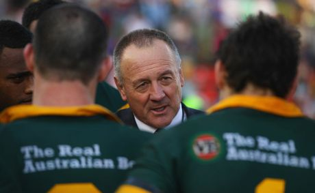 Kangaroos coach Tim Sheens.