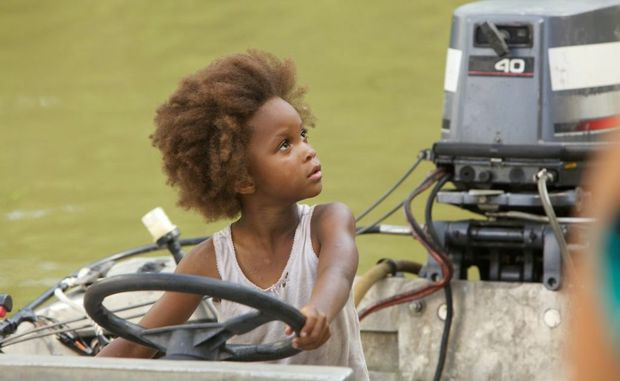 Quvenzhane Wallis in a scene from the movie Beasts of the Southern Wild. 