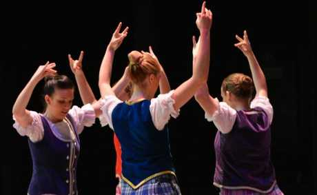 Highland Dancing at the Mackay Eisteddfod.